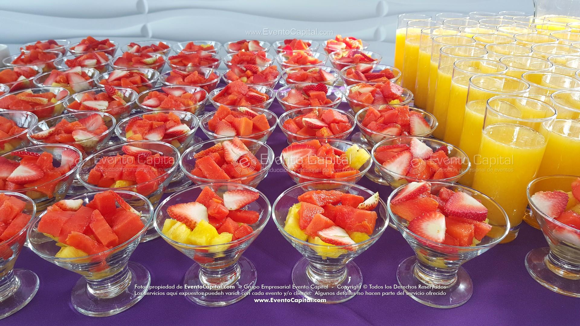 Desayunos Buffet