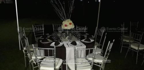 mesa redonda silla tiffany plata (2)