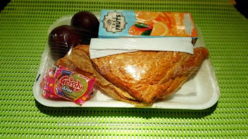 Refigerios empacados Pastel Pollo Jugo caja Fruta Golosina  (1)