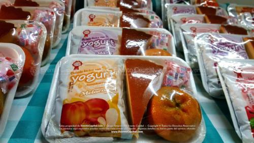 Refrigerios empacados Torta Yogurth Fruta Golosina (2)