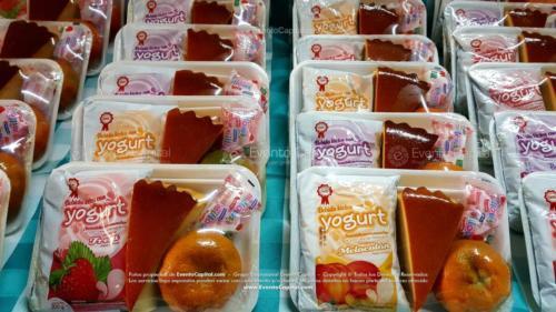 Refrigerios empacados Torta Yogurth Fruta Golosina (4)