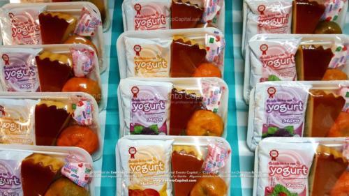 Refrigerios empacados Torta Yogurth Fruta Golosina (8)