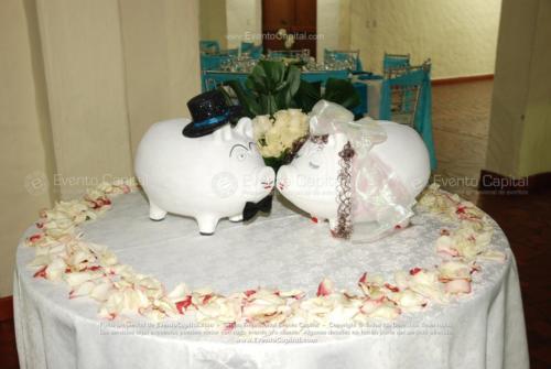 decoracion cofre marranitos